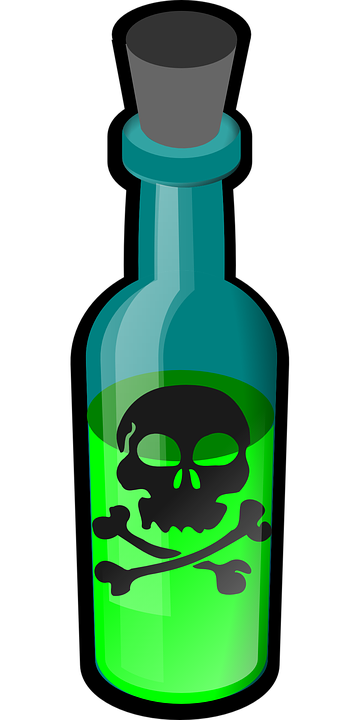 Poison Vector Png - Poison Toxic Bottle - Free vector graphic on Pixabay