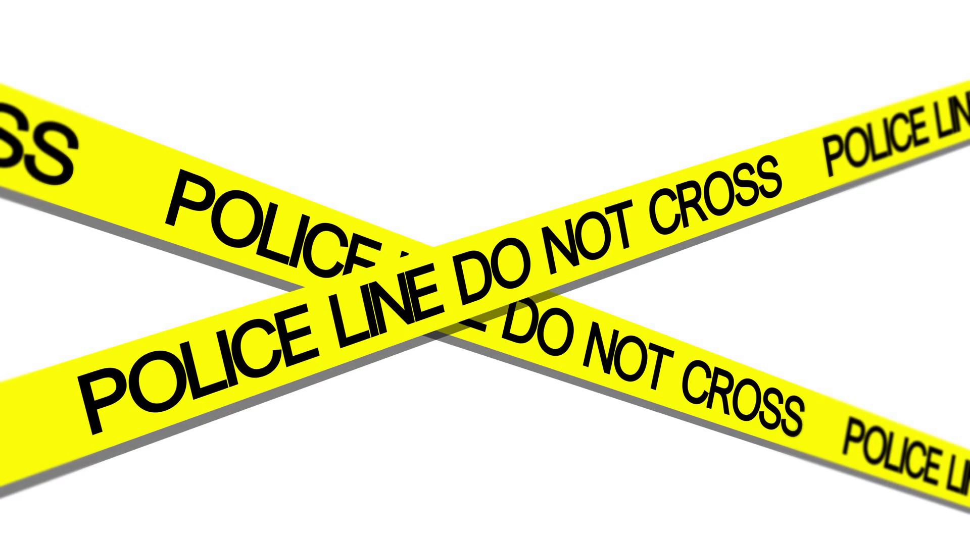 Police Line Do Not Cross Png - police line do not cross tape waving in breeze Motion Background ...