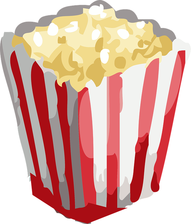Popcorn Snack Movie Free Vector Graphi 389040 Png Images Pngio
