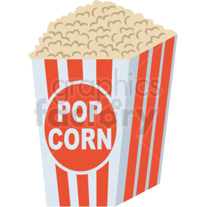 Popcorn No Background - popcorn vector flat icon clipart with no background clipart ...