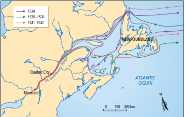 Jacques Cartier Water Route Png - Population and Settlement timeline | Timetoast timelines