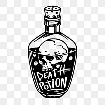 Poison Vector Png - Potion PNG Images | Vector and PSD Files | Free Download on Pngtree