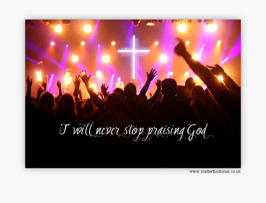 Will Of God Png - Praising God Png - Will Never Stop Praising Jesus , Transparent ...