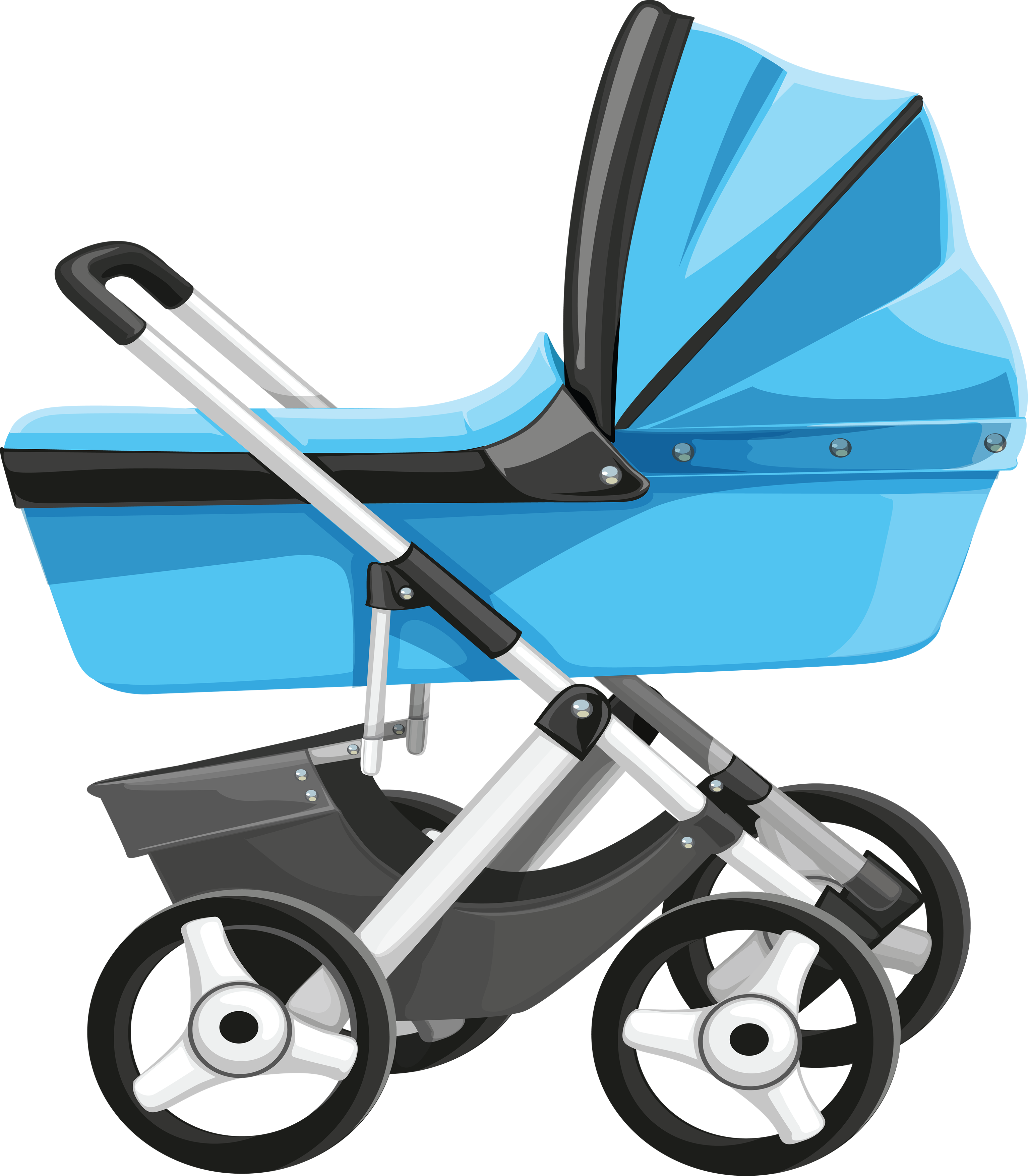 Nanny service isolated outline icon pram and heart in speech bubble baby  carriage emblem sitting and bringing up children
