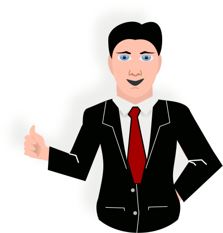 Office Presentation Png - presentation man with tie and jacket - /office/presentation ...