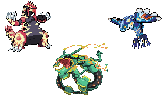 Primal Groudon And Kyogre Png Free Primal Groudon And