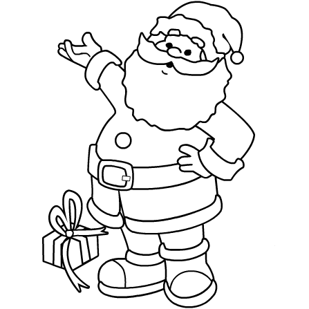 picture about Santa Claus Printable titled Santa Claus Png Coloring Web pages Printable Free of charge Santa Claus