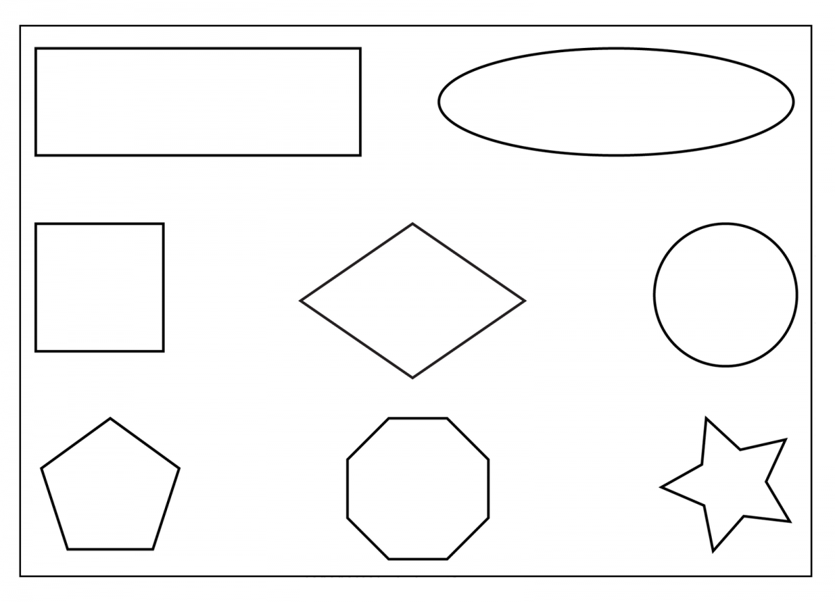 Printable Preschool Worksheets Shapes Ta 1968669 Png Images Pngio
