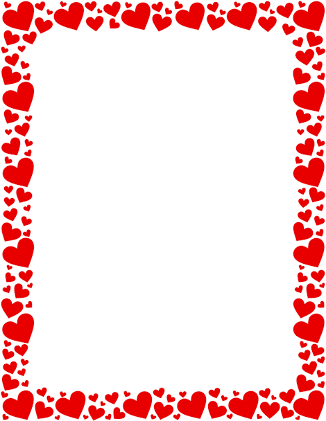 Heart Page Border Png - Printable red heart border. Free GIF, JPG, PDF, and PNG downloads ...