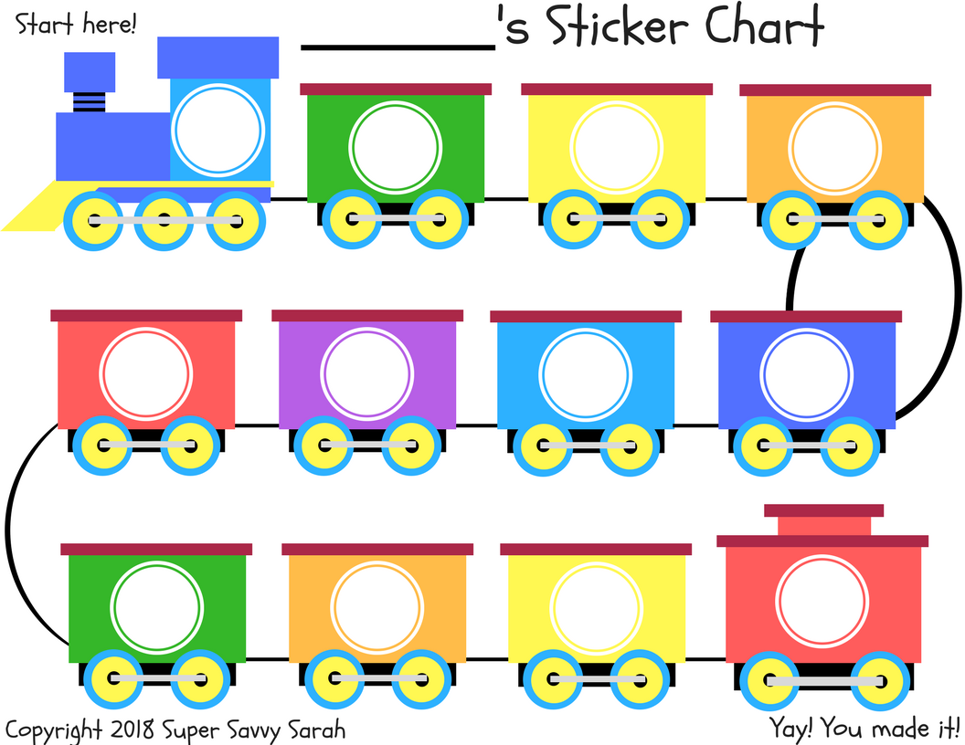 This is a graphic of Toddler Reward Chart Printable in preschool