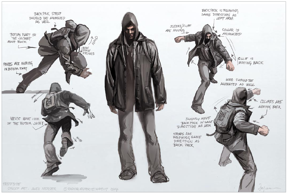 Prototype Game Png - Pro1 Very Early Alex Concept Art.png