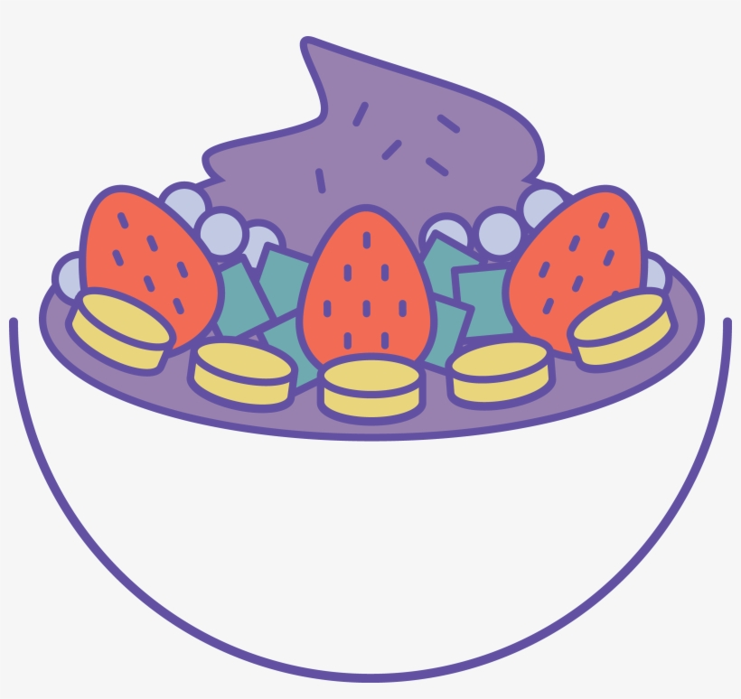 Bowl Cartoon Png - Project Açaí - Acai Bowl Cartoon Png Transparent PNG - 4023x3604 ...