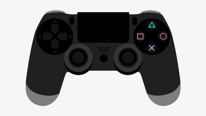 Video Game Graphics Png - Ps4 Controller Png Graphic Cave - Video Game Clipart Transparent ...