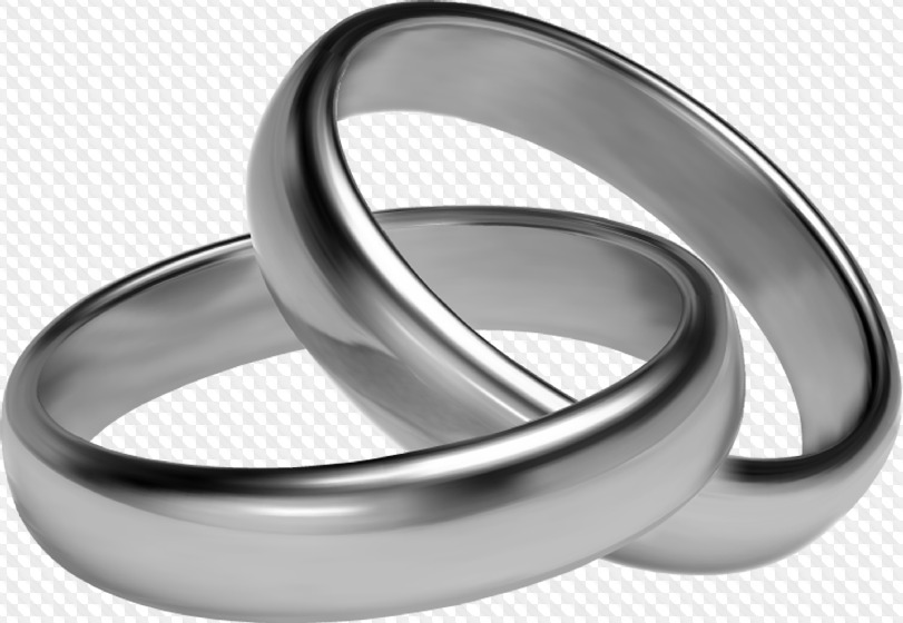 Silver Wedding Rings Png & Free Silver Wedding Rings.png