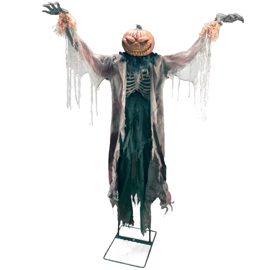 Scarecrows And Pumpkins Png - Pumpkin Head Scarecrow - 24 Seven Productions