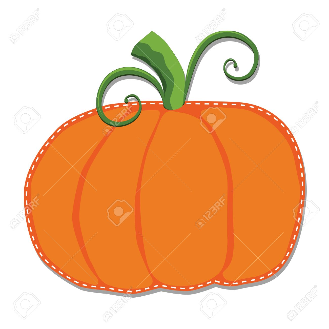 Pumpkin Clipart No Background - Pumpkin On A Transparent Background Royalty Free Cliparts, Vectors ...