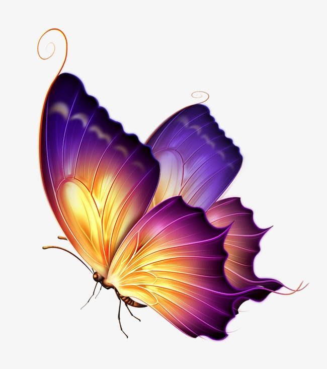 Butterfly Png - purple butterfly, Smart, Butterfly, Painted Butterfly PNG Image and Clipart