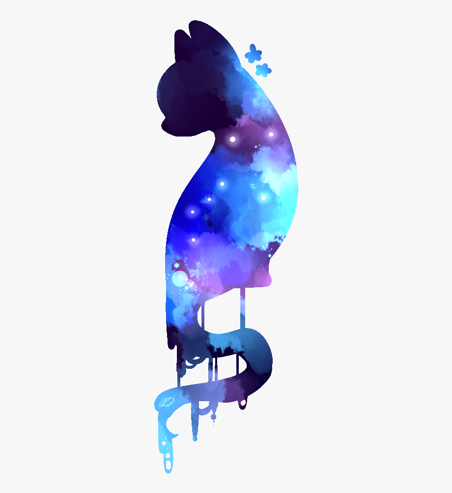 Galaxy Cat Png - Purple Clip Arts For Free Download On - Galaxy Cat Transparent ...