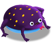 Purple Frog Png - Purple-frog.png