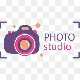 Purple Photography Logo Vector Material 1294 Png Images Pngio