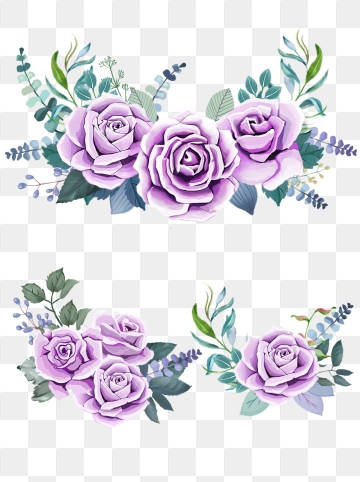 Violet Rose Png - Purple Rose PNG Images | Vector and PSD Files | Free Download on ...