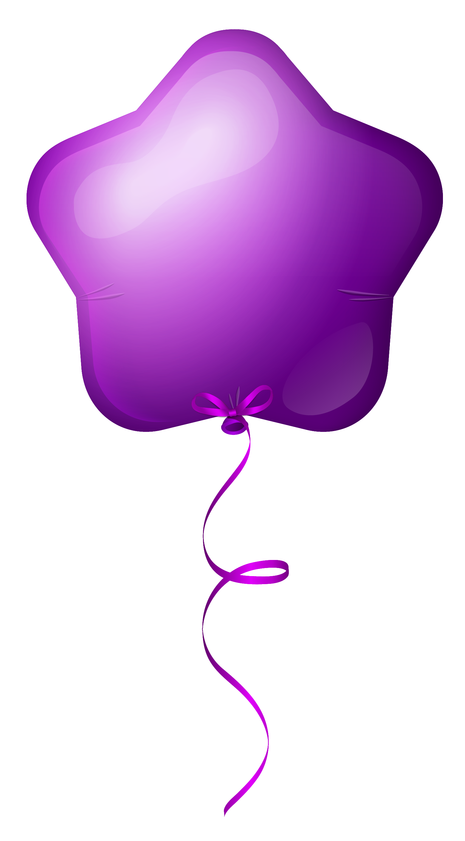 Purple Star Balloon Easter Png - Purple Star Balloon PNG Clipart Image   Gallery Yopriceville ...
