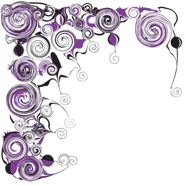 Purple Swirls - Purple Swirls And Twirls on Behance