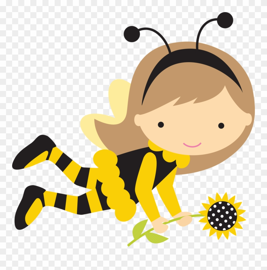 Girl Bumble Bee Png - Queen Bees - Bumble Bee Girl Clipart - Png Download (#463536 ...