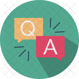 Question Answer Icon Of Flat Style Ava 2681 Png Images Pngio