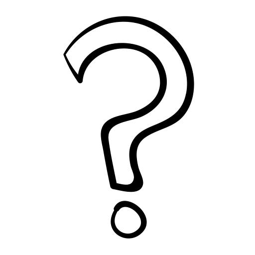 Question Marks Transparent Background - Question Mark Drawing transparent PNG - StickPNG
