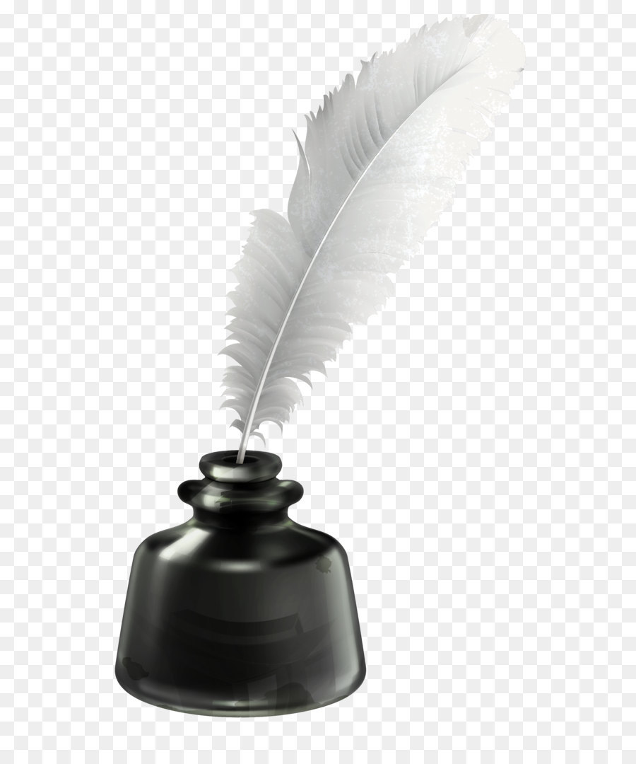 Inkwell Png - Quill and Ink Pot Transparent PNG Vector Clipart png download ...