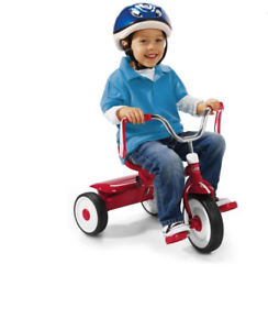Boy Riding A Tricycle Png - Radio Flyer Folding Trike, Red Tricycle, Kids Bike, Toddler Ride ...
