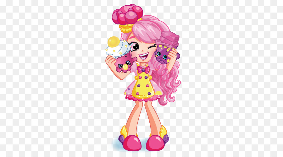Shopkins Shoppies Bubbleisha Png - Rainbow Clipart png download - 576*495 - Free Transparent Shopkins ...