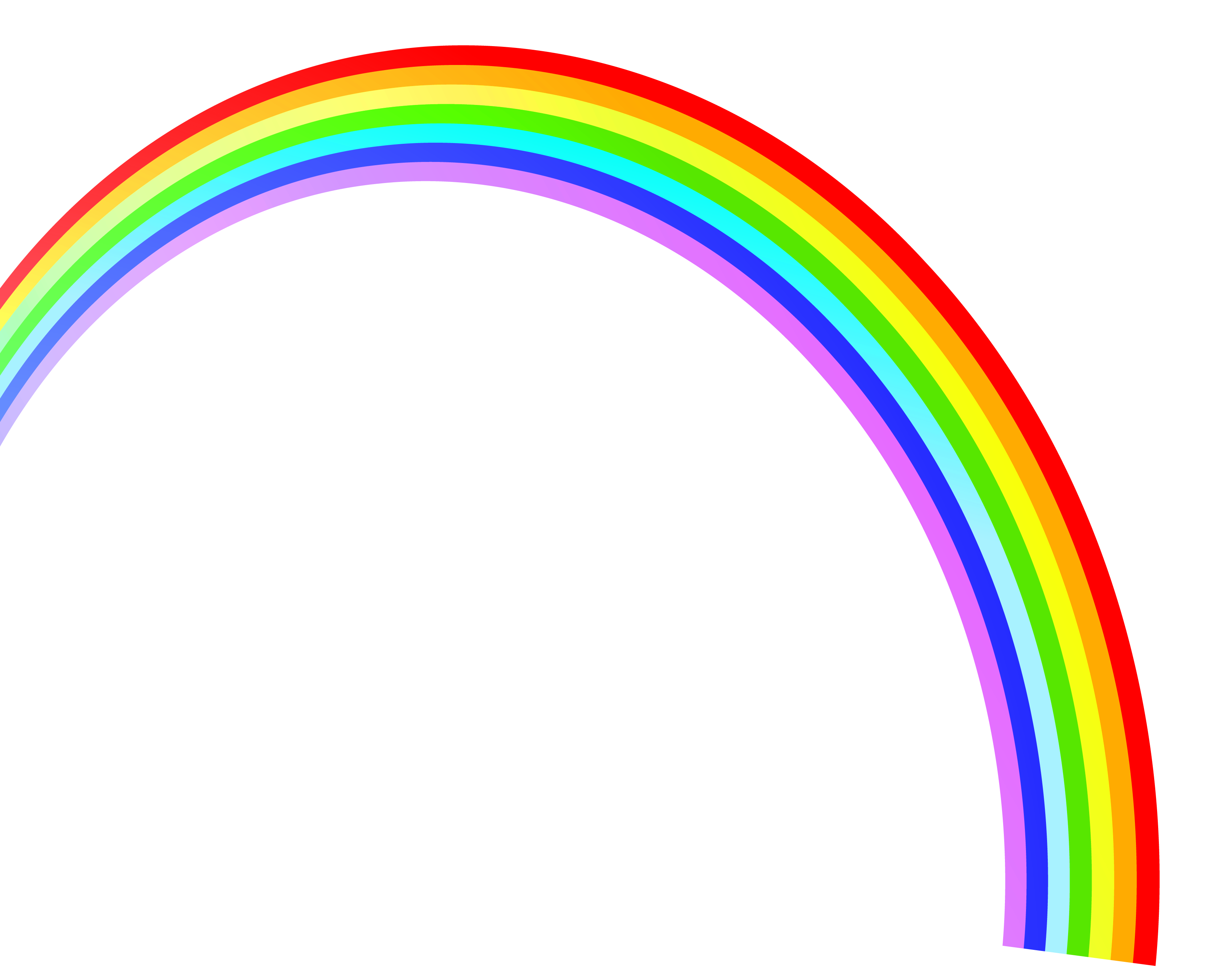 The Rainbow Png - Rainbow PNG image