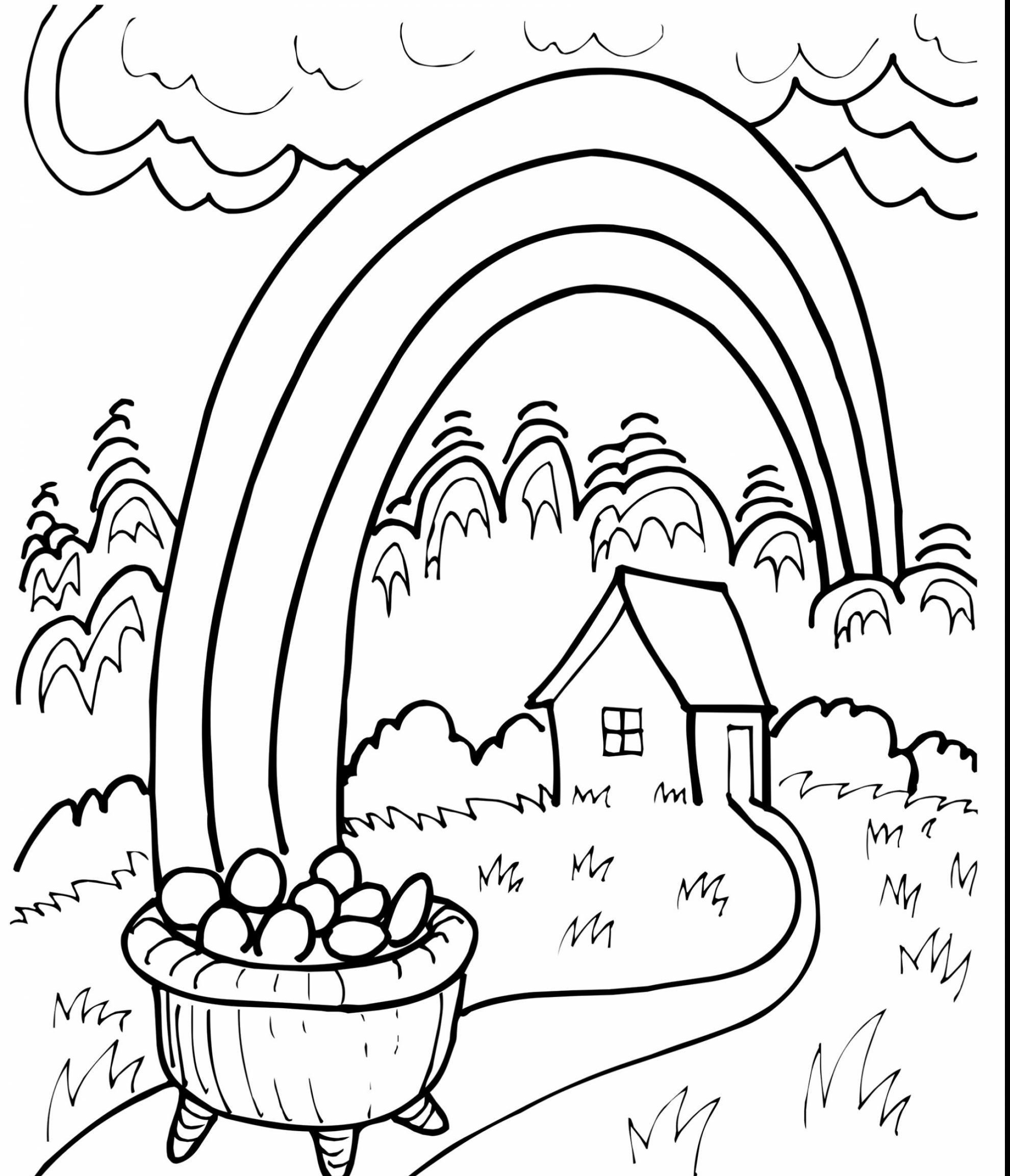 Rainbow Coloring Pages For Preschool Png Free Rainbow Coloring Pages For Preschool Png Transparent Images 117950 Pngio