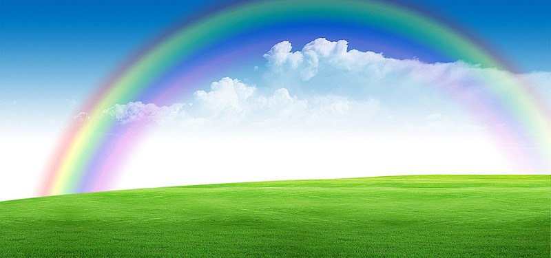 Png Scenery Backgrounds - Rainbow Scenery Png & Transparent Images #4988 - PNGio