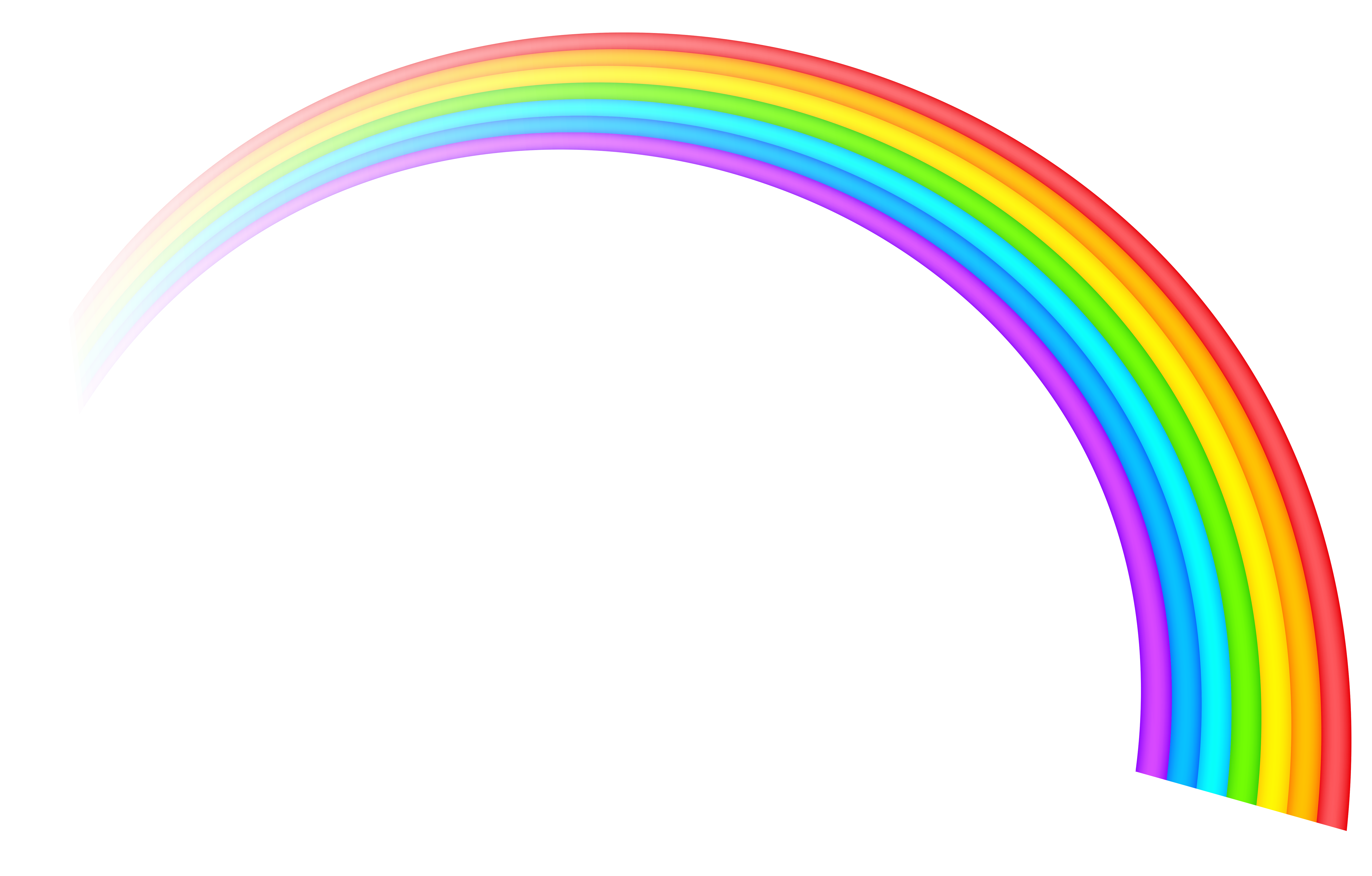 Rainbow Clipart Transparent Background - Rainbow Transparent Clipart Picture | Gallery Yopriceville - High ...