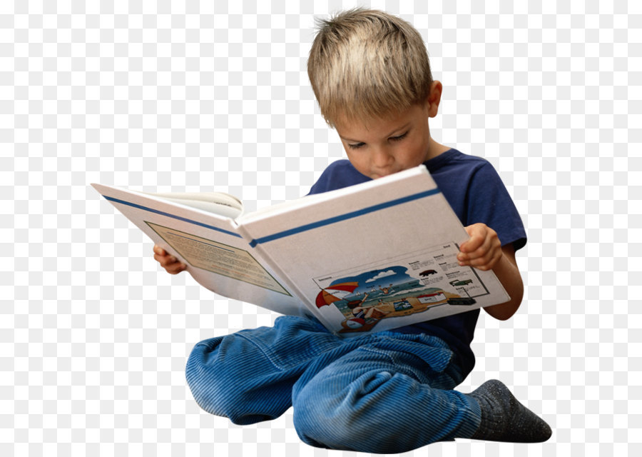 Boy Sitting Png - Reading Child Book Clip art - Kid PNG png download - 675*660 ...