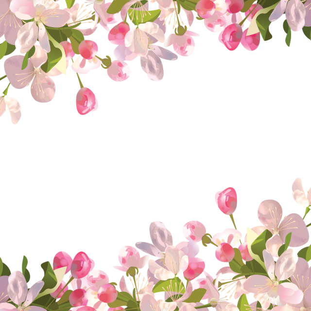 Background Spring Png - Realistic Spring Flowers Background, Spr #50586 - PNG Images - PNGio