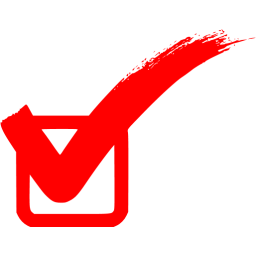 Red Check Mark 2 Icon Free Red Check M Png Images Pngio