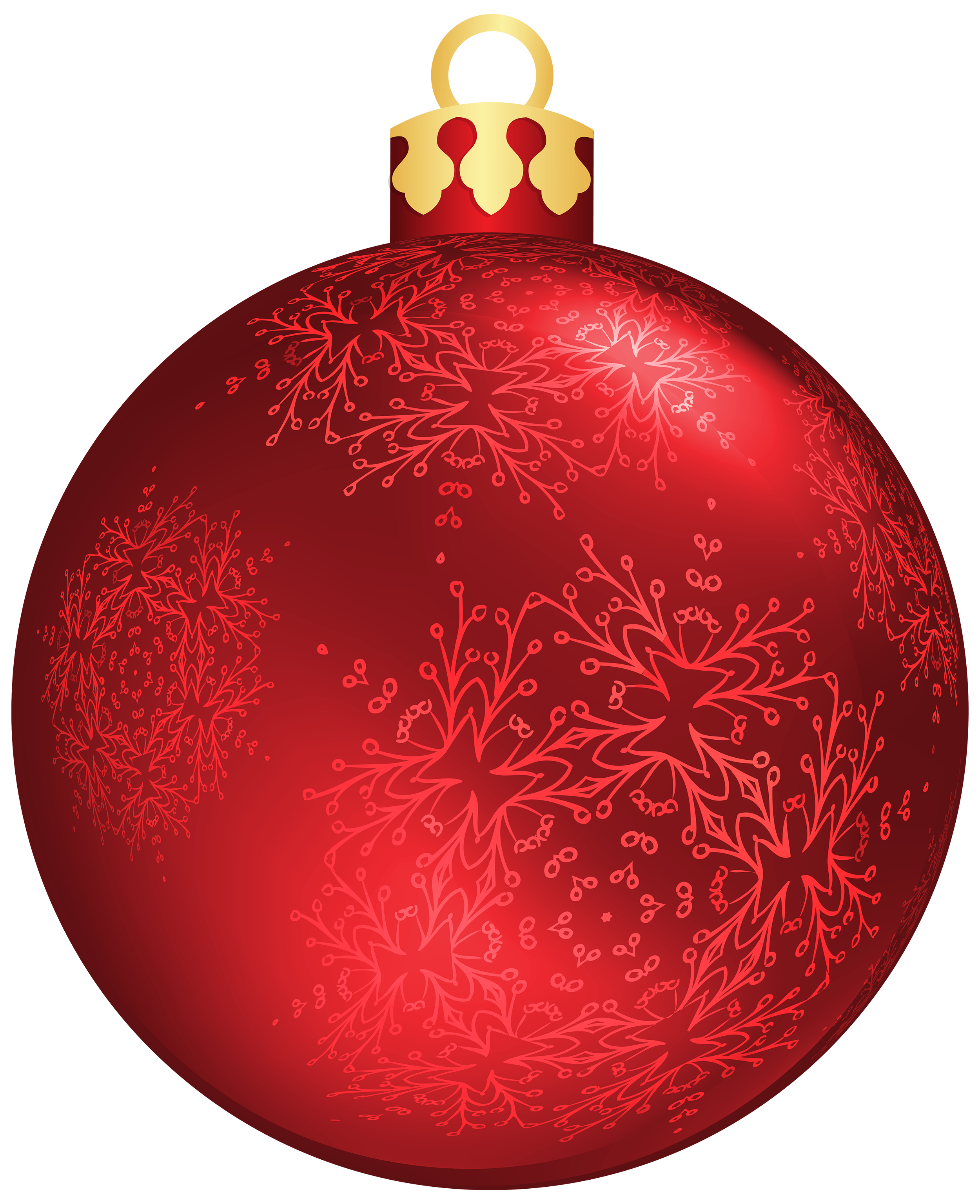 Christmas Red Ball Png - Red Christmas Ball PNG Clipart - Best WEB Clipart