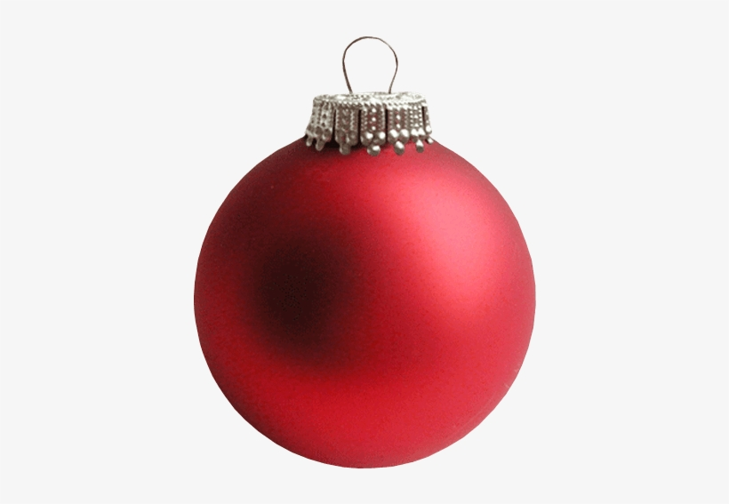 Christmas Bauble Png - Red Christmas Bauble Transparent Background - Christmas Bauble ...