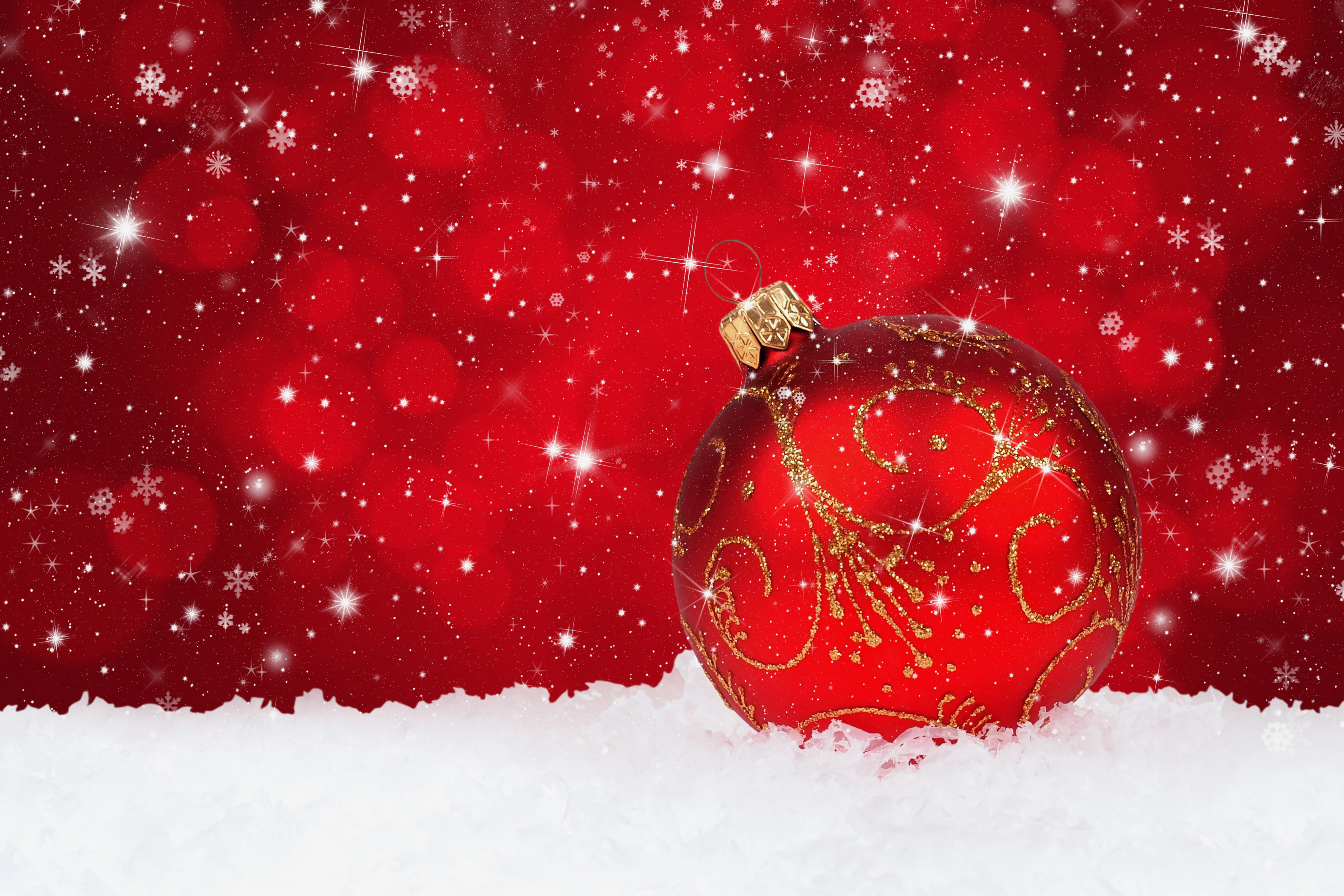 Snowy Christmas Backgrounds Png - Red Christmas Snowy Background with Christmas Ball | Gallery ...