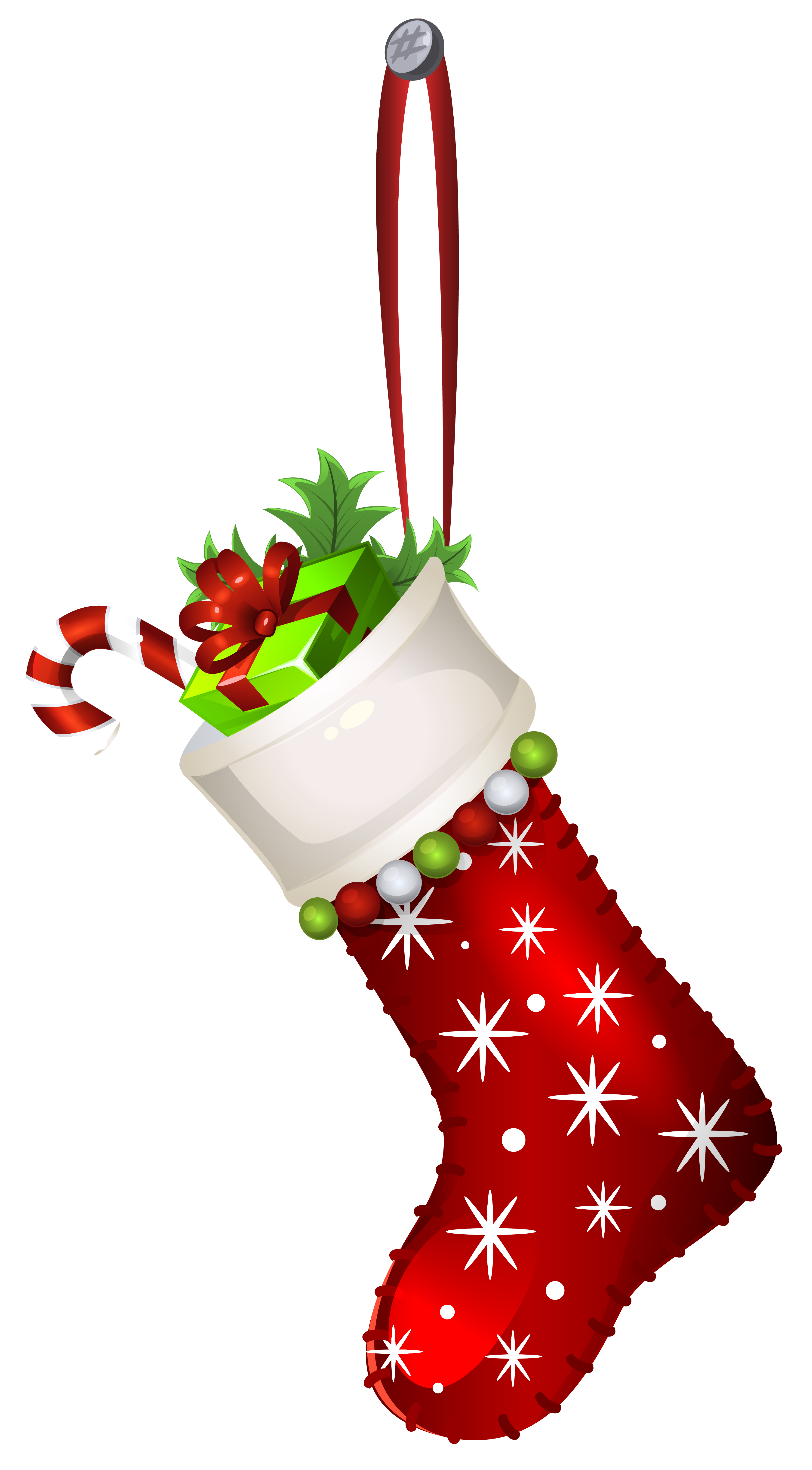 Santa Stocking Png - Red Christmas Stocking Transparent PNG Clip Art Image   Gallery ...