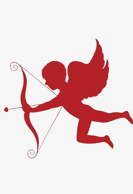 Transparent Cupid Heart Clipart, Cupid Heart Png Image - Valentines Day Cupid  Clip Art , Free Transparent Clipart - ClipartKey