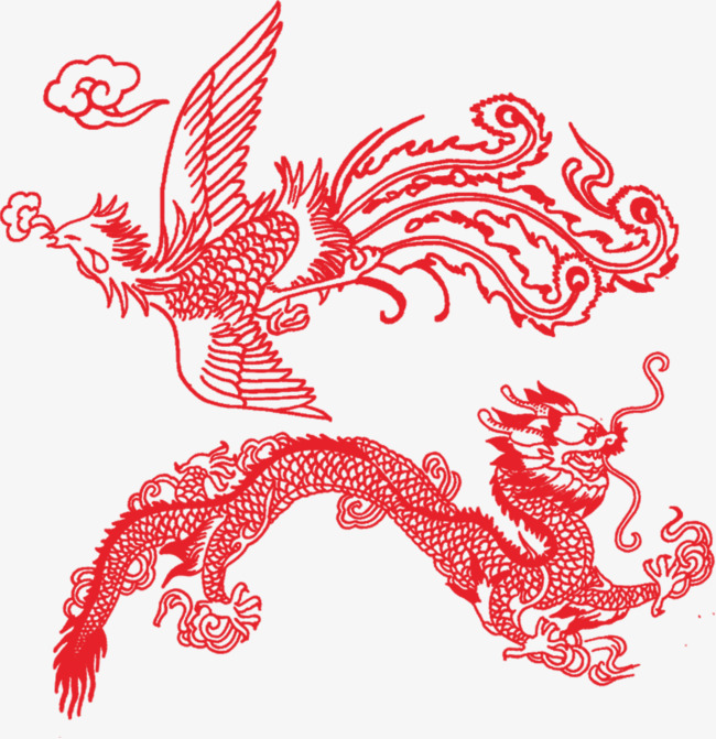 Simple Dragon Png - red dragon, Dragon Clipart, Line, Simple PNG Image and Clipart