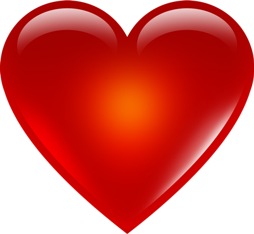 Red Png Hd - Red Heart Emoji Png Hd