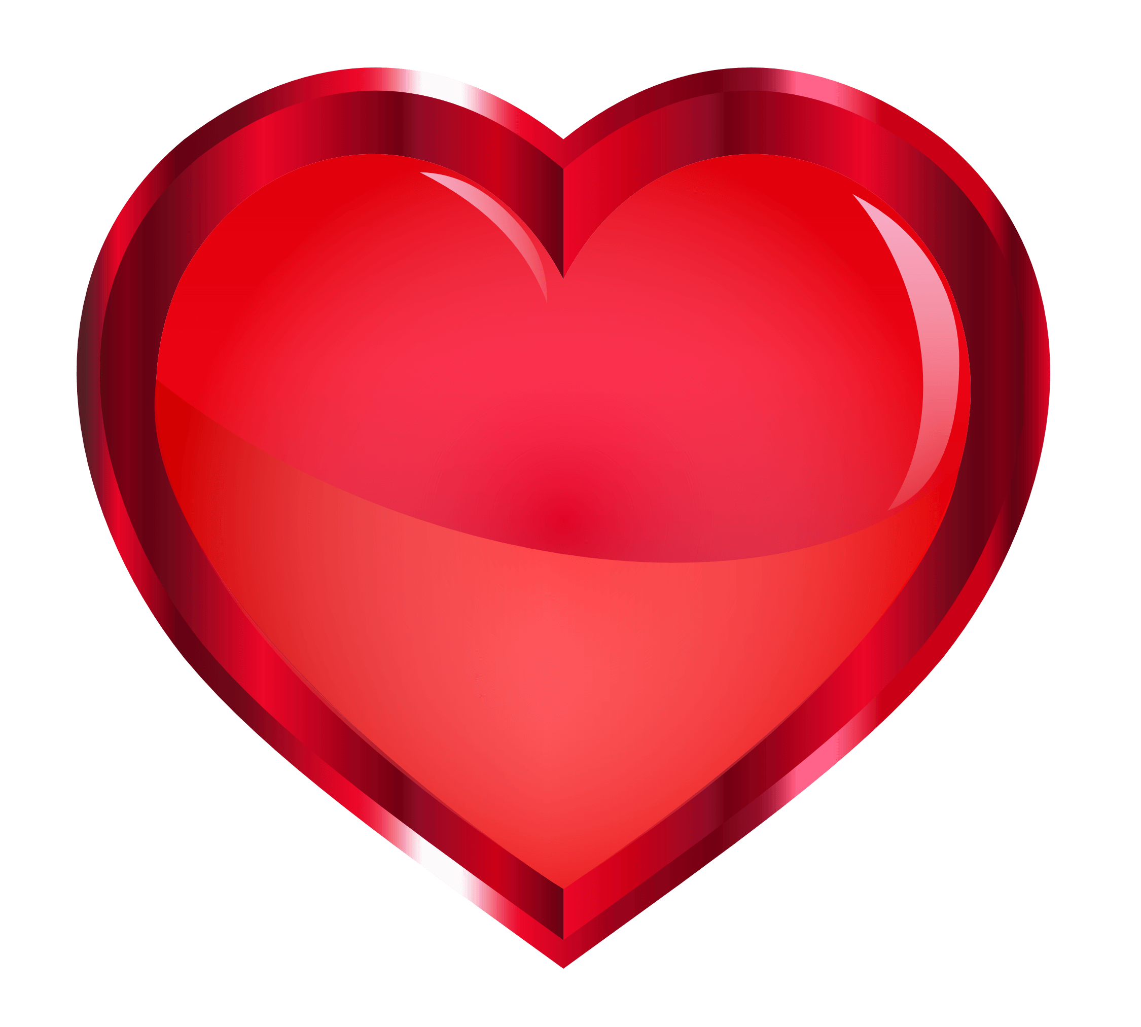 Red Heart Transparent Png Free Red Heart Transparent Png Transparent Images 64885 Pngio