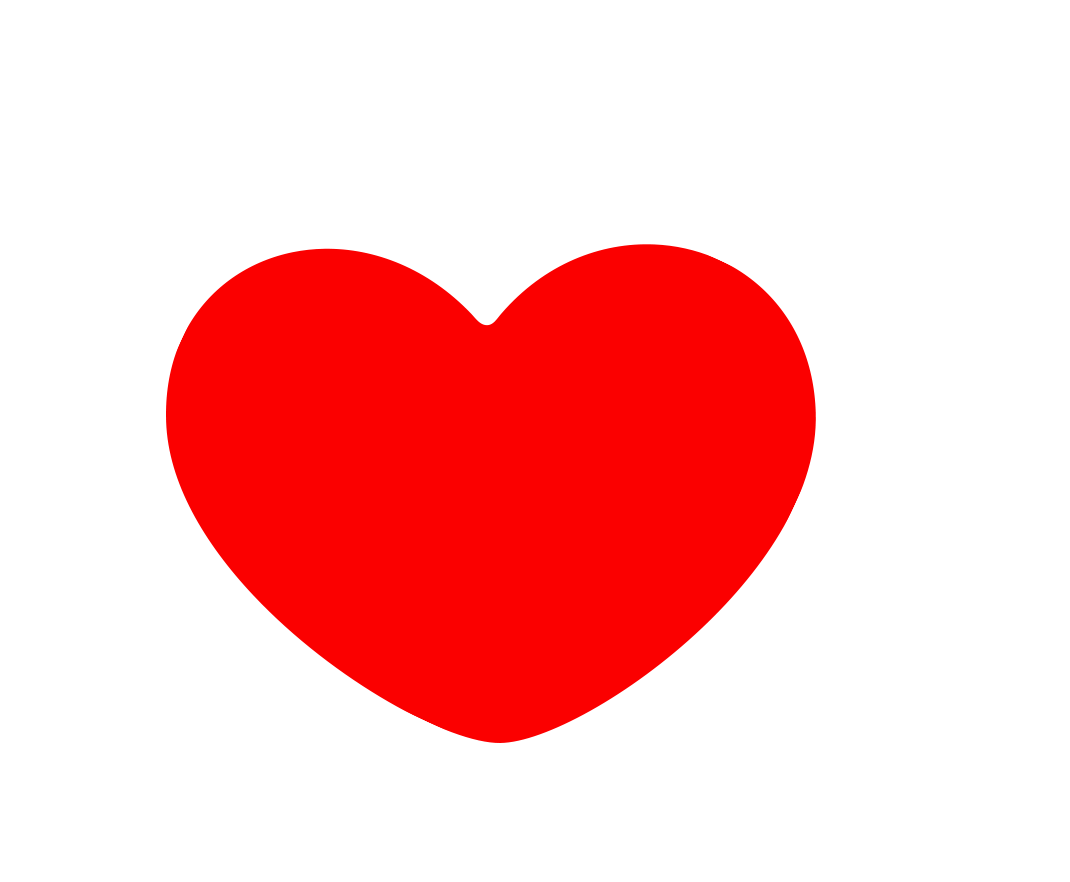 Red Heart Png Transparent Without Backgr 1108871 Png Images Pngio