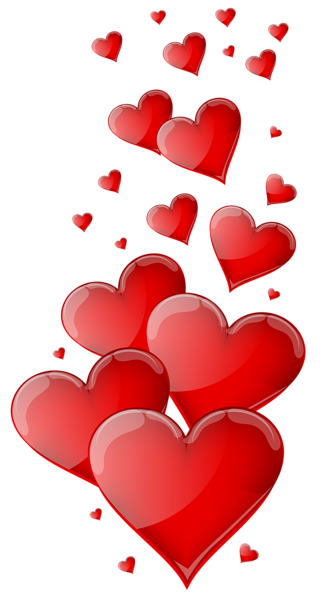 Hearts Png - Red Hearts PNG Clipart Image